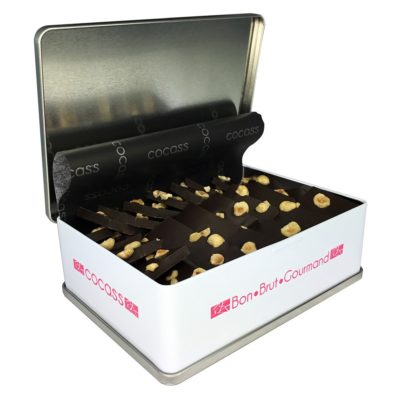 Coffret 700 g chocolat noir